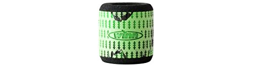 Winn Reel Grip Sleeve, Chartreuse/Black (Fishing Reel Handle Grips)