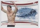 Michael Phelps (Trading Card) 2012 Topps U.S. Olympic Team and Olympic Hopefuls - Games of the XXX Olympiad #OLY-18