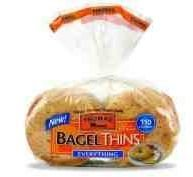 Thomas Everything Bagel Thins  8 Count Bag