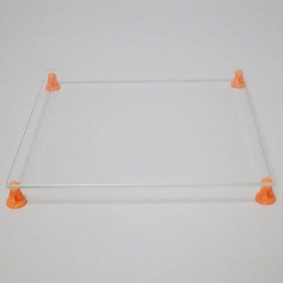 MatterHackers Borosilicate Glass Plate (200 x 214mm) by MatterHackers