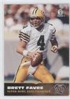 Brett Favre  Football Card  1997 Score Board Brett Favre Super Bowl Xxxi    Base   Bf5