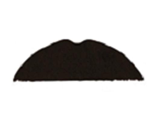 Mens Black Stick On Fake False 1920s Charlie Chaplin Fancy Dress Costume Moustache ()