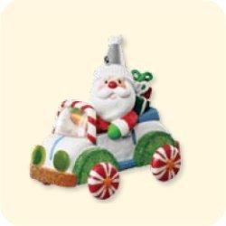 1 Santa (SANTA'S SWEET RIDE #1 2007 HALLMARK KEEPSAKE ORNAMENT QX7649 by)