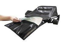 Xcase Umhängetasche: Schultertasche mit A4-Werbefenster, Querformat (Werbetasche)