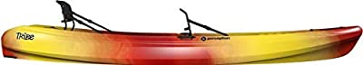 """9350130042 Perception Tribe Tandem 13.5   Sit on Top Kayak   Recreational Tandem Kayak for Two   13' 5""""   Sunset by Confluence Outdoors"""