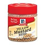 Case of McCormick Yellow Mustard Seed (6 Total)