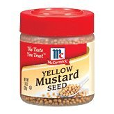 Case of McCormick Yellow Mustard Seed (6 Total) by McCormick