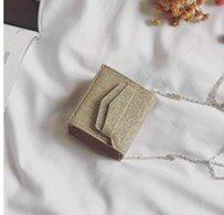 Sac Sac de Pièce Bright Mini Petit Mode de Sac ZHANGJIA Mode Femelle square Chaîne Sac Sacoche golden à de Monnaie Bandoulière 4nBExaw0q