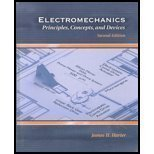 Electromechanics : Principles, Concepts, and Devices, Harter, James H., 0130977446