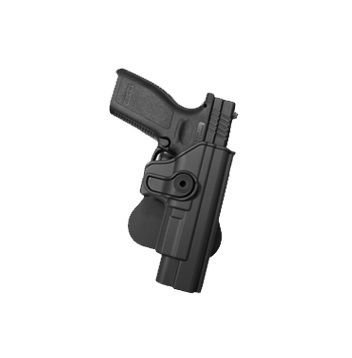 Springfield XD and Springfield XDM ( 9mm / .40 / .45 ) Polymer Retention Roto Holster Black