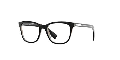 - Burberry frame (BE-2284 3764) Acetate Shiny Black - Metalic Silver