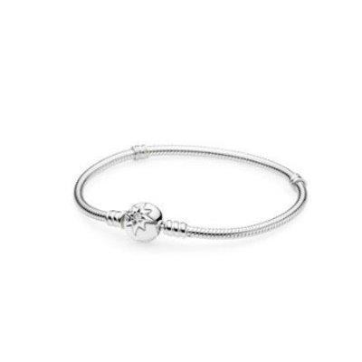 PANDORA 590735CZ Starry Sky Clasp Bracelet (7.9'')
