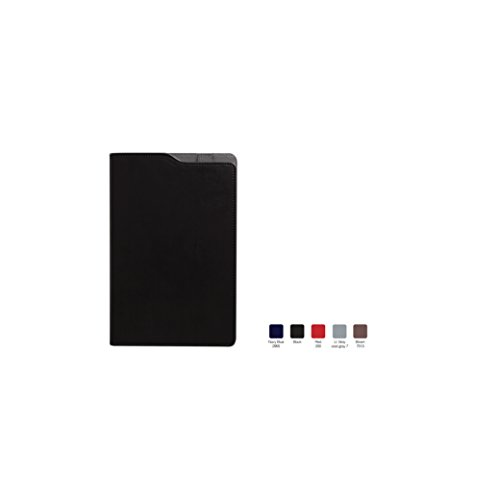 (SOCA Ruled, Hardcover Executive Notebook Journal with Premium Paper, 192 Lined Pages, Two-tone cover, Perforated Lined Pages, Pen Loop, Black Cover, Size 5.75