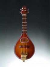 Mandolin Music Instrument Replica Christmas Ornament, Size 5 (Mandolin Ornament)