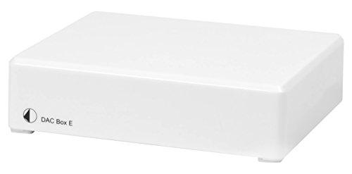 Pro-Ject Audio Systems DAC Box E Hi-Fi Digital-Analogue Converter - White