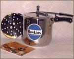 Hawkins HS10L Stainless Steel Pressure Cooker, 10-Liter by Hawkins