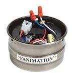 Fanimation SW50AB Receiver/Cup Unit Reversing, Antique Brass
