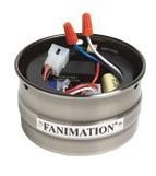 Fanimation SW50BL Receiver/Cup Unit Reversing, Black