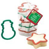 Christmas Shapes Plastic Cookie Cutters, 6-pc. - Value Card Macy's Gift
