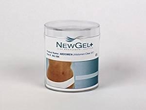 NewGel+E 18 X 2 Abdomen/Extremity Silicone Strip - CLEAR (1 Strip per box)
