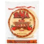 Baja Wraps Burrito Size Sun-Dried Tomato 14OZ (Pack of 12)