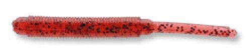 見える精神最後のエコギア(Ecogear) ルアー メバル職人 ストローテールグラブ 2インチ 247:レッドグロウ(夜光) レッド+ブラックFlk.