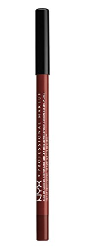 NYX PROFESSIONAL MAKEUP Slide On Lip Pencil, Brick House, 0.04 (Lip Liner Red Brick)