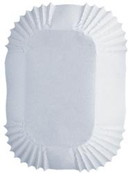 Wilton Bulk Buy Baking Cups White Petite Loaf 50 pack (6-Pack) by Wilton
