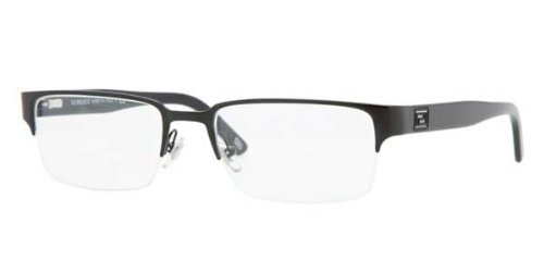 Versace VE1184 Eyeglasses-1261 Matte Black-53mm