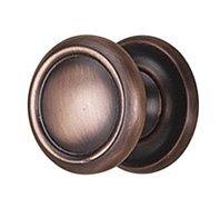 Alno Inc Traditional Mushroom Knob Finish: Chocolate Bronze, Size: 1