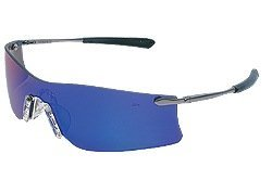 (Crews T411G Rubicon Safety Glasses Metal Temple w/Emerald Mirror Lens (12 Pair))
