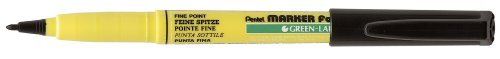 (Pentel 1.0mm Bullet Point Fabric Marker - Black)