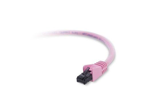 Pink Networking Cables (Belkin F2CP00210PNKS Gigabit Gaming Network Cable (3.048 meters, Pink))