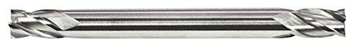 Alfa Tools DE51428 9//64 HSS Miniature Double End Mill 4 Flute Regular
