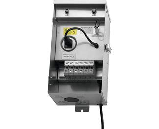 Kichler 15CS600SS Landscape Transformer, Stainless Steel