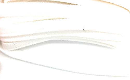 Underwire Channeling Bra Wire Sleeve French Tricot 10mm-5 Yards (White)