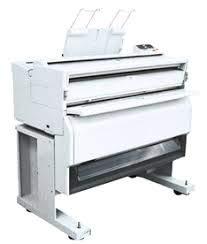 (Large Scale Ricoh FW750 Copier Photocopier A251 FW-750 Wide Large Format Paper Print Printer Business Computer Office Architect Copy Machine Work Designer Design)