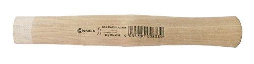 Connex COX850135 Fäustelstiel, Eschenholz, doppelt geschweift, für Fäustel 2000 g, Länge 300 mm