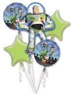 Disney Toy Story Buzz Lightyear Mylar Birthday Balloon Bouquet]()