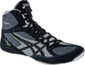 ASICS Men's CAEL V5.0 Wrestling Shoe,Black/Black/Silver,11 M US