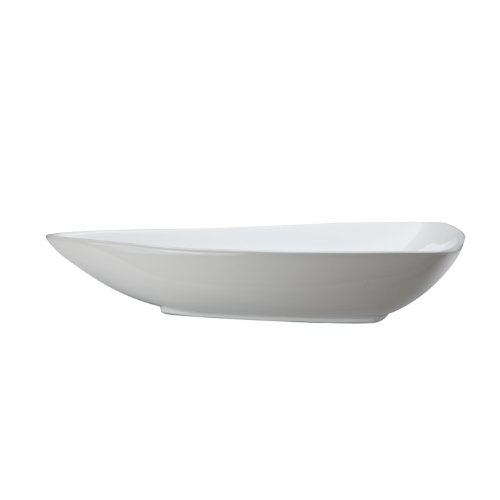 Decolav Counter Lavatory Sink - DECOLAV 1449-CWH Classically Redefined Triangular Above Counter Lavatory Sink, White