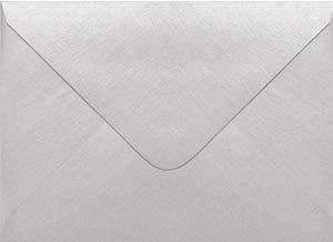 (Stardream Silver A6 Euro Flap Envelope (4 3/4