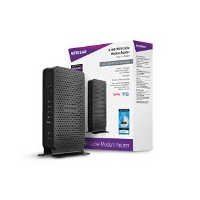 NETGEAR C3000-100NAS N300 (8x4) WiFi DOCSIS 3.0 Cable Modem Router (C3000) Certified for Xfinity from Comcast, Spectrum, Cox, Cablevision & more