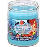 Smoke Odor Exterminator 13 oz Jar Candles Enchanted Sea, (2)