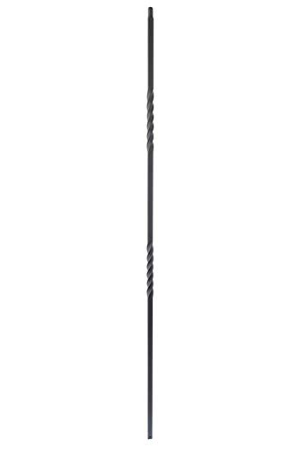 - Solid Iron Baluster for Stairs and Railings, Double 6