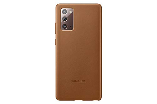 Samsung Official Galaxy Note 20 Series Leather Back Cover (Brown, Note 20 Ultra)