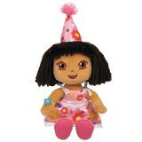 TY Beanie Baby Birthday Dora - Beanie Explorer Dora The