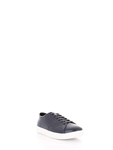 Sneakers Armani 40 X4x238 Blu Xf332 Uomo Emporio t7zwq1Hx