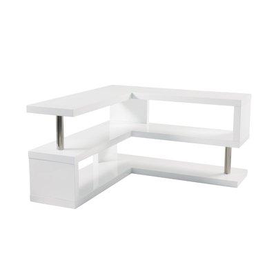 release date c0aa3 19a8a Contour gloss corner TV unit white: Amazon.co.uk: Kitchen & Home