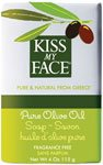 Kiss Vitamins Fragrance Free (Kiss My Face Bar Soap, 4.0 oz, Pure Olive Oil, Fragrance Free - 1 ea)
